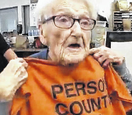North Carolina woman spends 100th birthday in jail