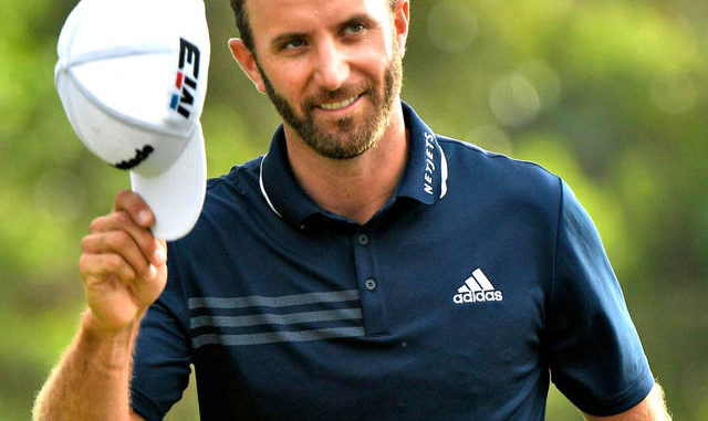 The Associated Press                                 Dustin Johnson started the day two strokes behind Brendon Todd and took the lead after three straight birdies put him at 20 under after 10 holes.