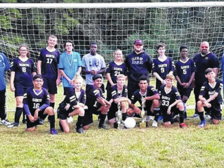The Scotland Christian Academy soccer team won the CCAA tournament over the weekend.                                  Contributed Photo