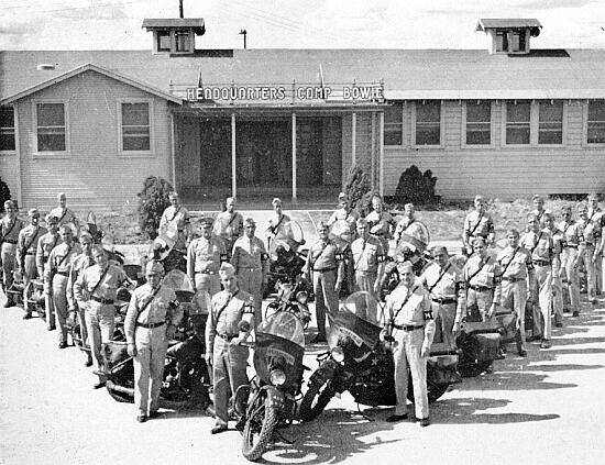 Courtesy photo                                 On Dec. 28, 1943, the whole 51st Field hospital — which at that time consisted of seven officers and 191 enlisted men — moved to the LMAB for an additional two-week period of very specialized intensive training. This training included mock-up air transport and rigging.